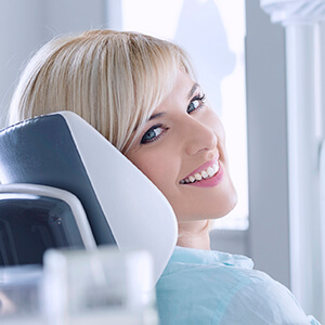 Sparks Cosmetic Dentist  female patient with lovely smile