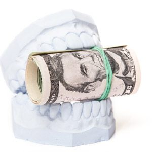 dental mold and money